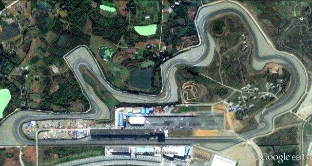Chengdu Goldenport Motor Park Circuit