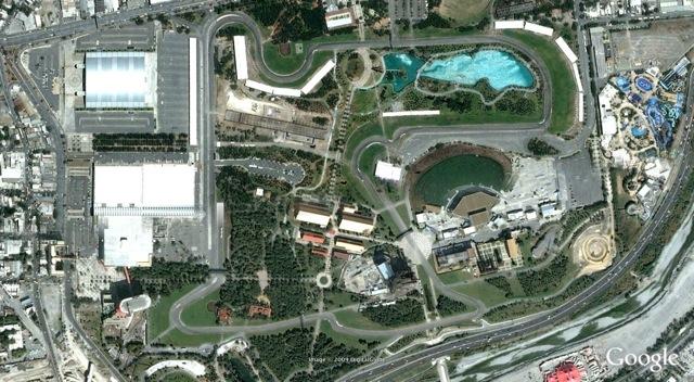 Parque Fundidora Circuit