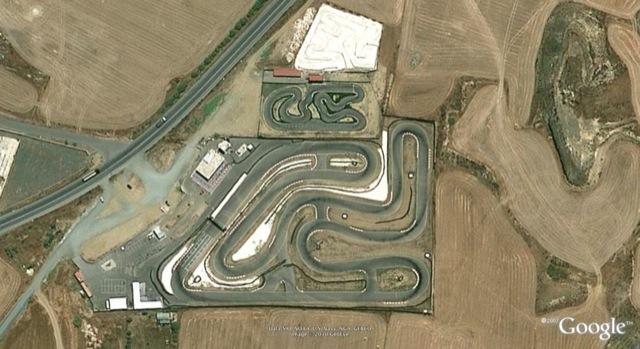 Daytona Raceway Kart Track