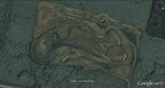 Kapelluhraum Rallycross Track