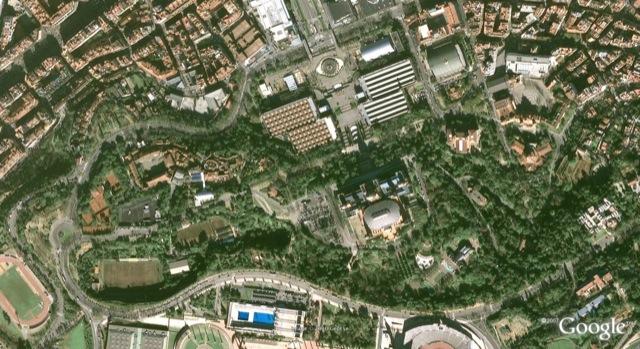 Parc Montjuic Circuit