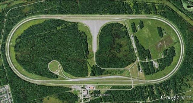 Blainville Test Track