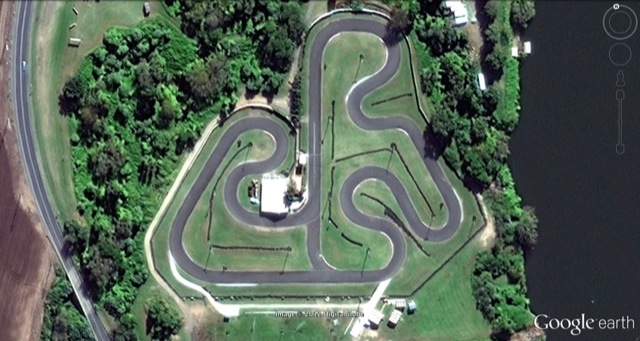 Butterfly Farm Kart Track