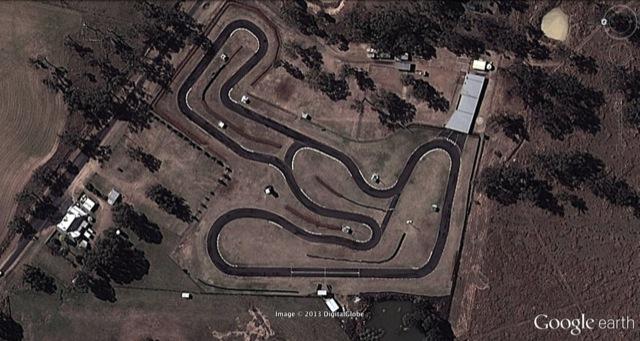 Warwick Kart Track